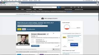 LinkedIn Tutorial 2015 - Quick Start