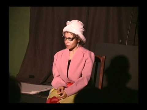 Comedienne Etta Mae Mumphries LIVE on Billie Holiday