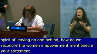 Kim Windvogel's Intervention at HLPF 2019: http://webtv.un.org
