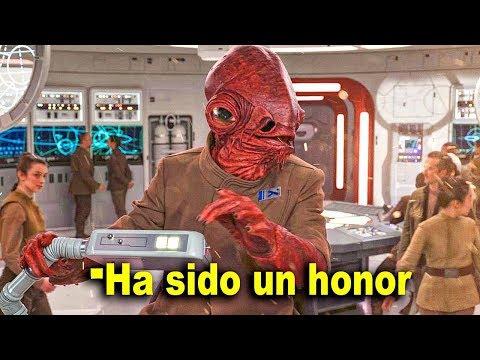 Video Se Revela la últimas Palabras de Ackbar Antes de Morir - Star Wars download in MP3, 3GP, MP4, WEBM, AVI, FLV January 2017