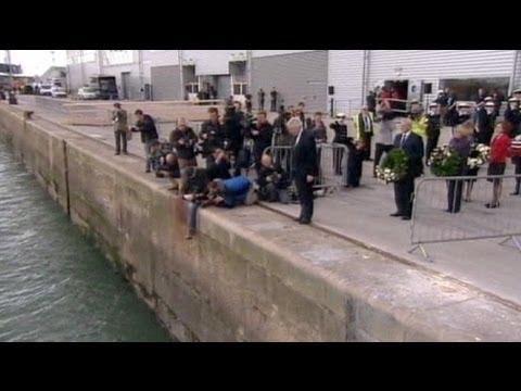 ساوثمبتون تحيي ذكرى سفينة التايتانيك - فيديو