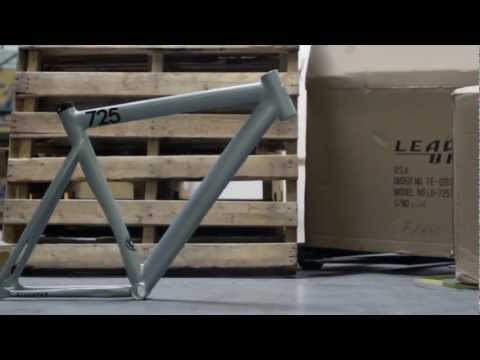 0 City Grounds x Leader   2013 725 Mid LTD Fixed Gear Frame