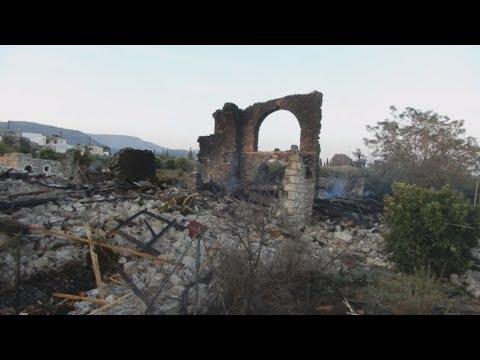 Mεσάρα: Ισχυρή έκρηξη σε ρακοκάζανο