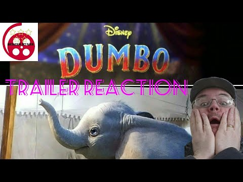 Dumbo Official Trailer Reaction  (2019 Live Action Movie)
