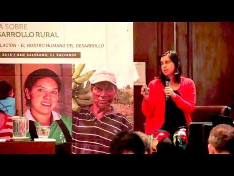 FIDA EL SALVADOR-Ignacia Fernández/Dir. Ejecutiva RIMISP