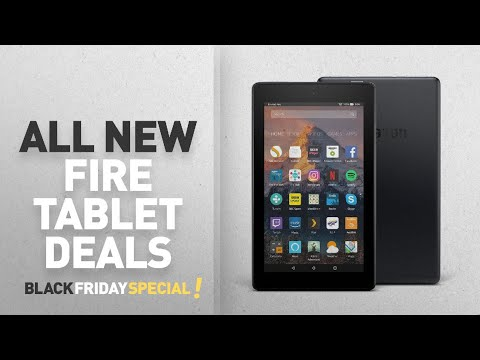 Black Friday Amazon Fire Tablet Deals: All-New Fire 7 Tablet with Alexa, 7