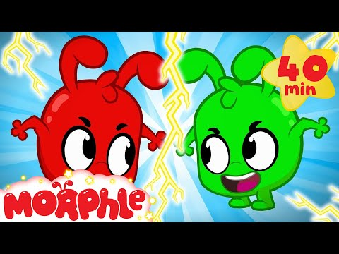 MORPHLE AND THE EVIL TWIN! - My Magic Pet Morphle | Cartoons For Kids | Morphle TV | BRAND NEW