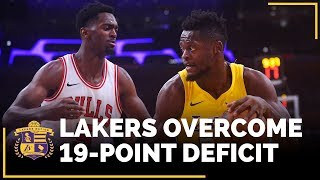 Lakers Overcome 19-Point Deficit In Win Over Bulls by Lakers Nation