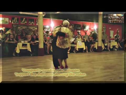 La milonguera mas antigua del mundo   Baila tango en su 92 cumpleaños