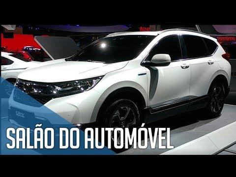 Salão do Automóvel SP 2018 - Novidades da Honda