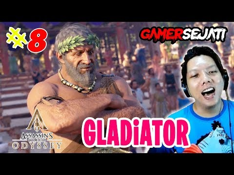 Assassin's Creed Odyssey | DUEL PALiNG EPiC Di ARENA GLADiATOR 😂