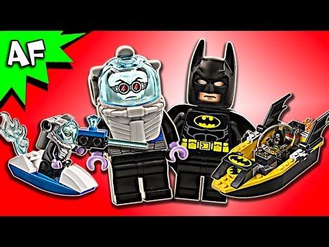 Vidéo LEGO Juniors 10737 : Batman contre Mr. Freeze