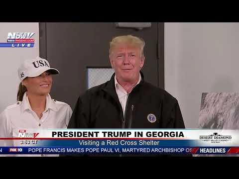 WATCH: President Trump SLAMS Elizabeth Warren Over Her 1/1024 Native American Background