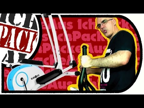 Klarfit ELLIFIT BASIC 10 Crosser/Heimtrainer (Unboxing, Aufbau, Test)