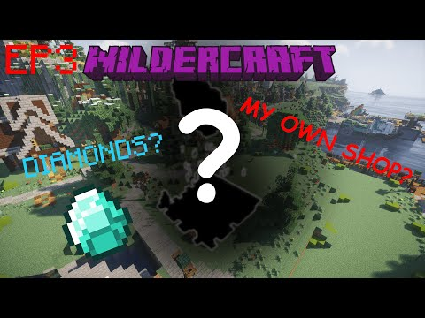 Setting Up My Own Shop!   Minecraft   Wildercraft S8   EP 3