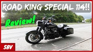 9. 2019 Road King Special 114ci - Harley Davidson Ride Review