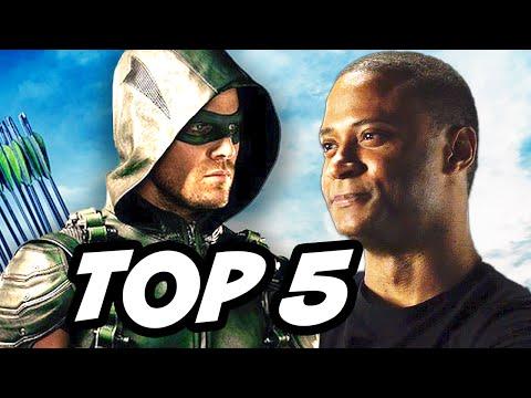 Arrow Season 4 Episode 7 - TOP 5 WTF and Easter Eggs