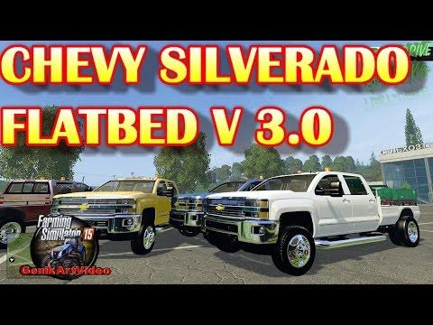 Chevy silverado flatbed v3