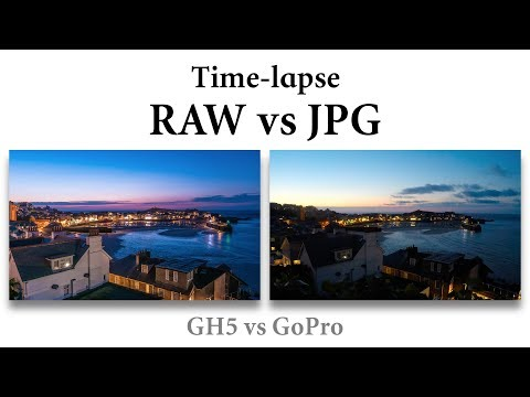 Time-lapse tips, RAW vs jpg, GH5 vs GoPro (4k)
