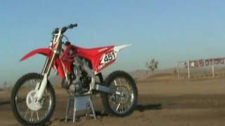 7. 2010 Honda CRF 450R First Test Review Video