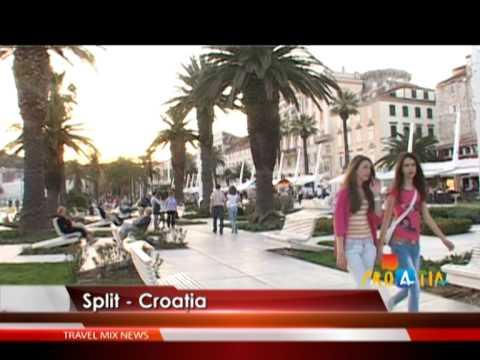 Split, oraşul muzeu din Croaţia – VIDEO