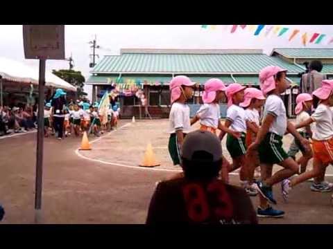 柚羽 嘉島幼稚園運動会2010 開会式