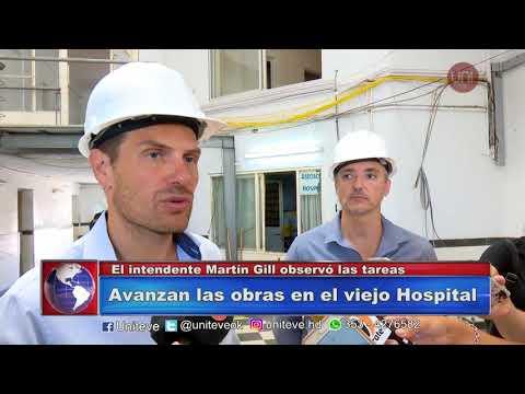Obras en el Viejo Hospital