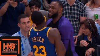 Los Angeles Lakers vs Golden State Warriors 1st Half Highlights   10.12.2018, NBA Preseason