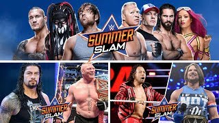 Hello guys!These are the expected and predicted match card for WWE Summerslam 2017!If you enjoyed this video and want more like this then please leave a like on this video and subscribe to my channel! It will be much appreciated. Thank you for watching the video and have a great day!----------------------------------------------Credit to WWE for pictures used:http://www.wwe.com/Background from: http://wallpapersafari.com/royalty-free-wallpapers/Music from NoCopyrightSounds:Konac - Home [NCS Release]Link: https://www.youtube.com/watch?v=6TFfIgMeYQ0Konac• https://soundcloud.com/konac• https://www.facebook.com/itskonac• https://www.youtube.com/c/konac• https://twitter.com/konac_
