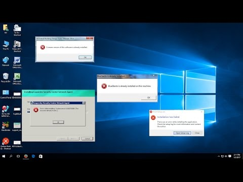 How to Fix Software Installation Error in Windows 10,8 1,7 (Fail, Fatal, Can't Install)