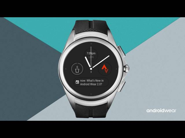 Android Wear 2.0: Developer preview tour