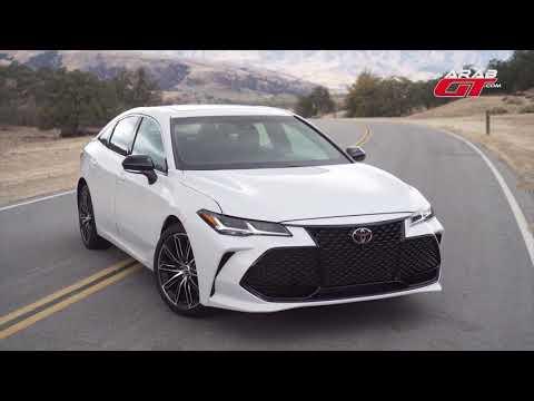 العرب اليوم - تويوتا أفالون 2019 أوّل سيارة ذاتية القيادة مِن الصانع الياباني