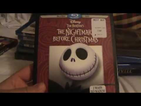 The Nightmare Before Christmas 20th Anniversary Edition Blu-Ray Unboxing
