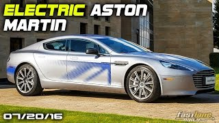 Electric Aston Martin Rapide, New Mercedes-AMG G Wagon, Mercedes AMG GT R Limited - Fast Lane Daily by Fast Lane Daily