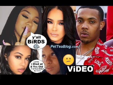 "Ari Calls Out Emily B & Daughter Over G Herbo Cheating, Reginae Responds On Video  ""i Dyed At 8"" 😕☕❌"