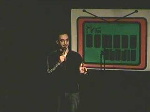 Myq Kaplan at the Comedy Studio