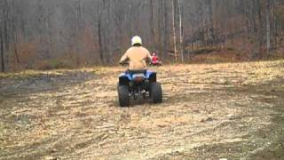 4. riding kawasaki lakota honda fourtrax and recon