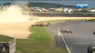 Toyota Racing Series 2016 All Crashes Compilation