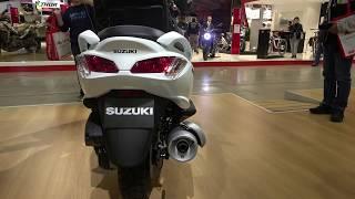 1. The 2020 Suzuki Burgman 200cc scooter