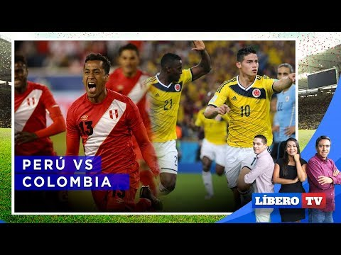 Perú Vs Colombia | PREVIA EN VIVO | AMISTOSO INTERNACIONAL
