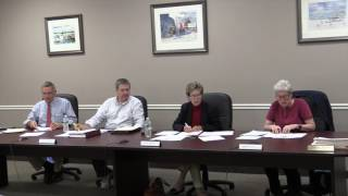 Boothbay Harbor Selectmen Sep 12, 2016