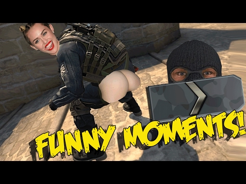 CS:GO SILVER FUNNY MOMENTS - TWERKING BAITING, #FIXCSGO, EPIC NINJA DEFUSE (видео)