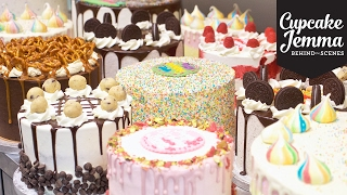 Behind the Scenes at Crumbs & Doilies CAKES | Cupcake Jemma by Cupcake Jemma