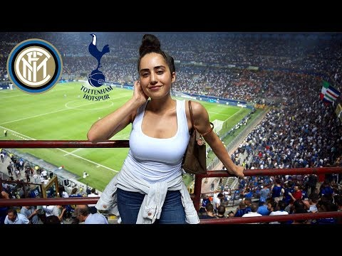 MY FIRST TIME GOING TO A CHAMPIONS LEAGUE GAME | INTER MILAN VS TOTTENHAM 2-1 LIVE REACTION VLOG