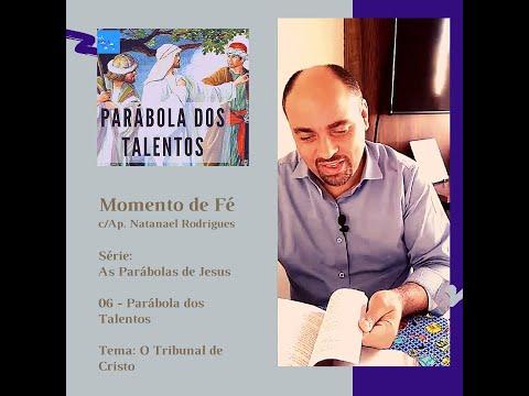 Momento de fé -  Parabola dos Talentos