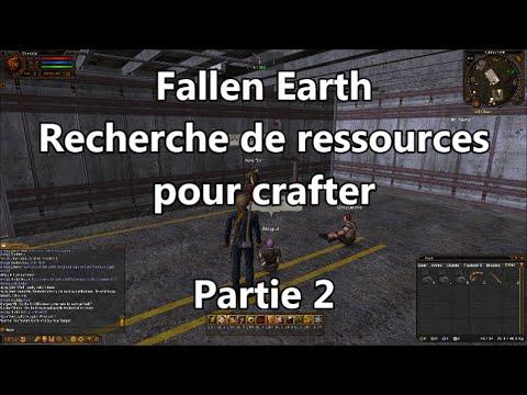Recherche de ressources pour crafter – Let's Play découverte Fallen Earth  #2