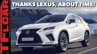 The New 2020 Lexus RX Is Bolder And Has The ONE Feature You Have Been Asking For! by The Fast Lane Car