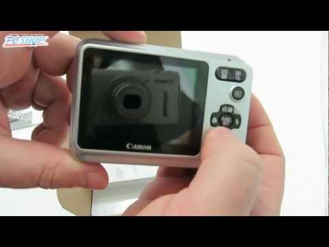 Canon PowerShot A800 | unboxing