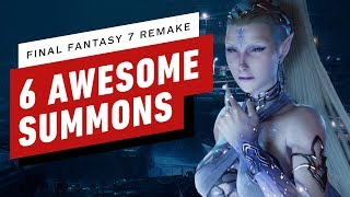 Final Fantasy 7 Remake - 6 Awesome Summons In Action by IGN