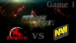 Empire vs Na'Vi, game 1